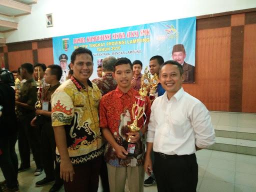 Prestasi yang sudah dicapai SMKN Tanjungsari Lamsel